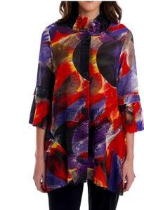 Joseph ribkoff size 8 geometric design print jackt